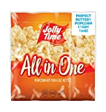 JOLLY TIME All in One Kit for 6 oz. Popcorn Machine | Portion Packet with Kernels, Oil and Salt for...