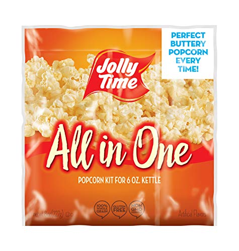 Best Price Jolly Time All In One Kit for 6 oz. Popcorn Machine | Portion Packet with Kernels, Oil & ...