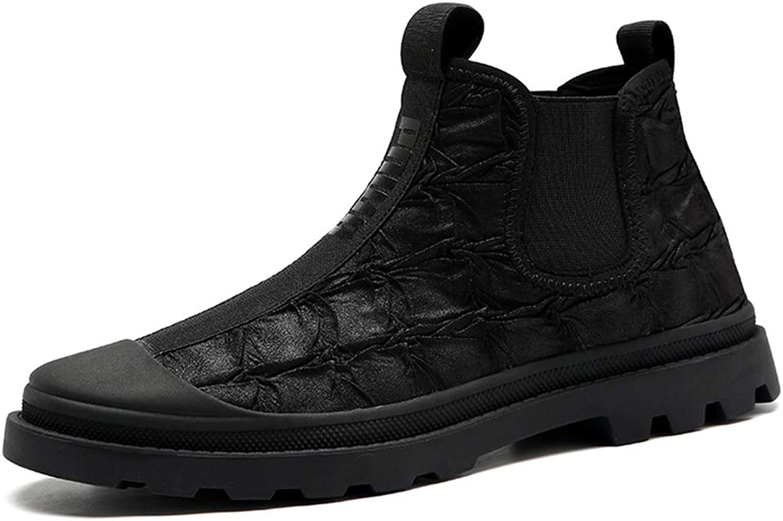QIDI Martin Boots Male Autumn Winter High Help Outdoor Movement Booties (Size   US8.5 EU39 UK6.5)