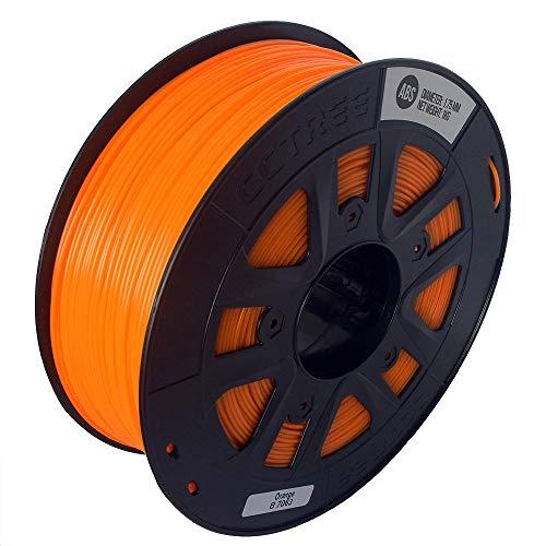 MICEROSHE Filamento de Impresora 3D Pro 1kg / Roll 1.75mm Muchos Colores ABS filamento compatibles con la Impresora Crealilty/TEVO/Anet 3D (Color : Naranja, tamaño : 1.75mm)