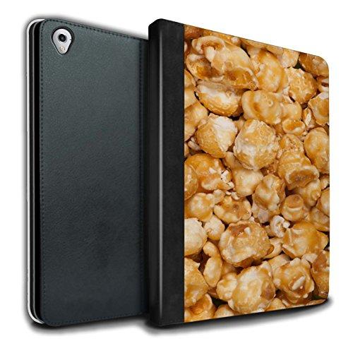 Stuff4 PU Cuero Funda/Carcasa/Folio Libro en para el Apple iPad Pro 9.7 Tablet/Serie: Aperitivos - Palomitas Butterkist