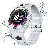 URJEKQ GPS Niños Impermeable Smartwatch Reloj Inteligente...