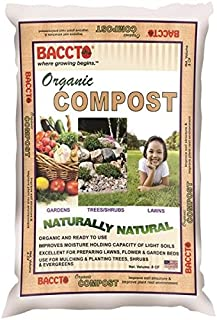 Baccto 1920 Organic Compost, 0.8 Cu.ft