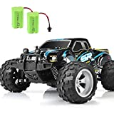 2021 DOUBLE E Remote Control Car Upgrade Two Batteries High Speed RC Car for Boys Girls Kids 4WD Off Road Race Car RC Monster Trucks