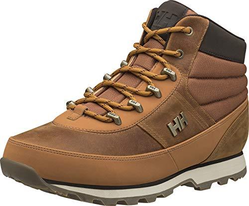 Helly Hansen Woodlands, Stivali da Escursionismo Uomo, Marrone (727 FRUMENTO di Miele/Caccia/SPE), 43 EU