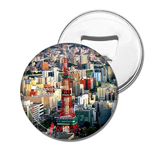 Weekino Japan Odori Park Sapporo Bier Flaschenöffner Kühlschrank Magnet Metall Souvenir Reise Gift
