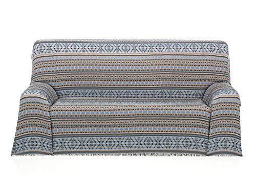 Cardenal Textil Azteca Foulard Multiusos, Beige, 230X290 Cm