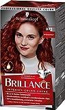 Brillance Intensiv-Color-Creme Haarfarbe 872 Intensivrot Stufe 3, 3er Pack(3 x 160 ml)