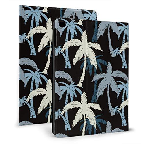 Soft Ipad Cover Coconut Tree Summer Plant Kid Ipad Cover For Ipad Mini 4/mini 5/2018 6th/2017 5th/air/air 2 With Auto Wake/sleep Magnetic Childrens Ipad Case