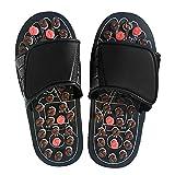 Acupresión Masajeador de pies Zapatillas de Masaje Zapatos Reflexología...