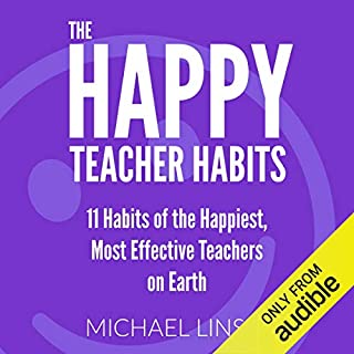 The Happy Teacher Habits audiobook cover art