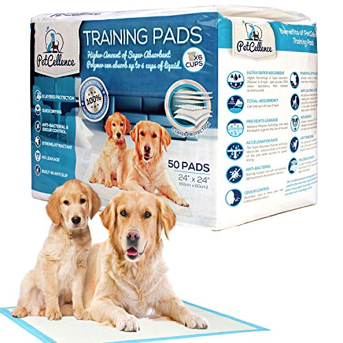 PetCellence Puppy Training Pads 50 Count - 24