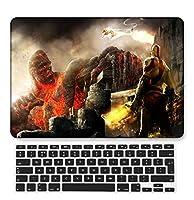 FULY-CASE プラスチックウルトラスリムライトハードシェルケース対応のある新しいMacBook Pro 13インチあり/なしタッチバー/タッチIDUSキーボードカバー A2338 M1/A2289/A2251 (漫画シリーズ A 131)