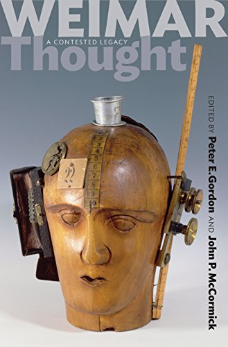 Weimar Thought: A Contested Legacy (English Edition)