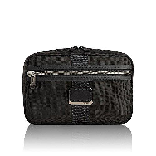 Tumi Alpha Bravo - Reno Kit Beauty Case, 24 cm, 2.78 liters, Nero (Black)