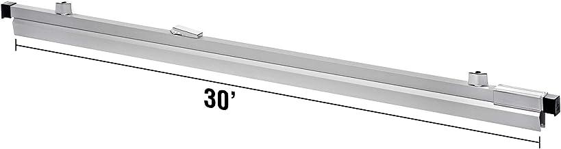 "AdirOffice Blueprint File Hanging Clamps 30"" - Industrial Grade Aluminum Print Clamp - Convenient Sheet Organizer for Plan..."