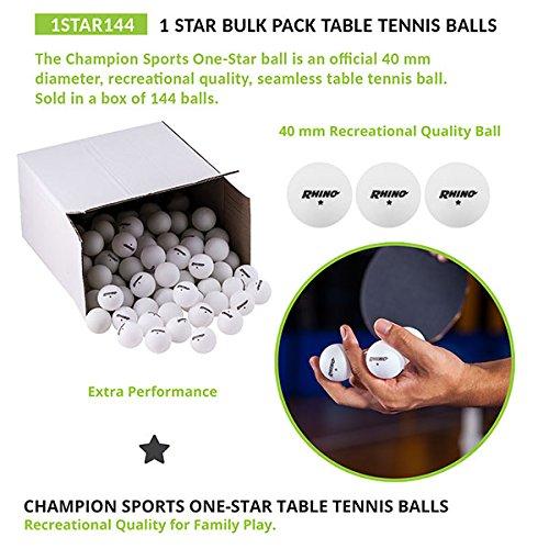 Champion Sports 1Star Balles de...