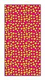 Agatha Ruiz de la Prada Alfombra Vinílica Estampados Básicos Círculos Naranjas y Rosas 40x80cm - Alfombra Cocina Vinilo - Alfombra Salón Antideslizante e Ignífuga - Alfombras Grandes - Alfombras PVC