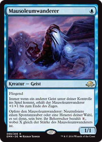 Magic the Gathering MTG Rare Seltene Karten Düstermond Auswahl - deutsche Ausgabe (Mausoleumwanderer #069)
