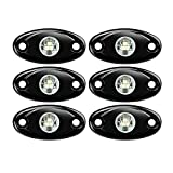 6 Pods LED Rock Lights, Ampper...