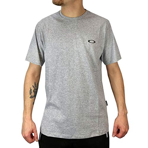 Camiseta Oakley Icon - Cinza - GG