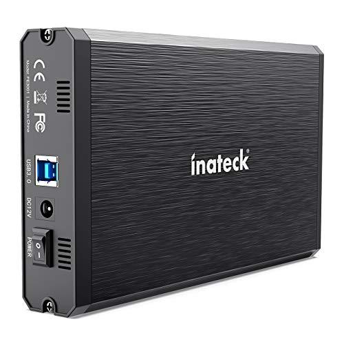 『Inateck 2.5/3.5インチ USB3.0 HDD外付けケース SATA(SATA-I/II/III)にサポート UASP超高速データ転送モードに対応 アルミ製,FE3001』のトップ画像