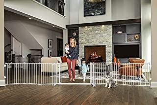 Regalo Double Door 192-Inch Super Wide Gate and Adjustable 8-Panel Play Yard, White (B07BFJXNCR)   Amazon price tracker / tracking, Amazon price history charts, Amazon price watches, Amazon price drop alerts