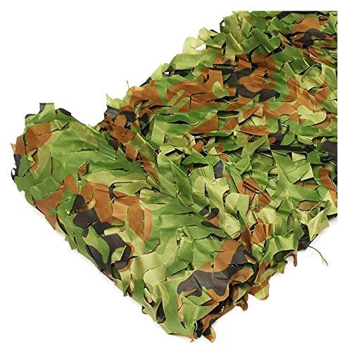 'N/A' Red De Camuflaje Militar Carpa De Jardín Malla De Camuflaje Decorativa 3x5m Toldo Decorativo Camo Netting para Jardín Tela Camouflage Net Exterior Toldo Verde(Size:4x6m)