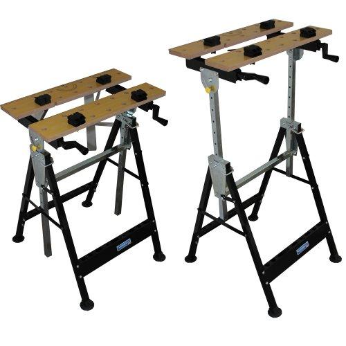 Werkbank klappbar höhenverstellbar Werktisch Spanntisch Arbeitstisch bis 100kg