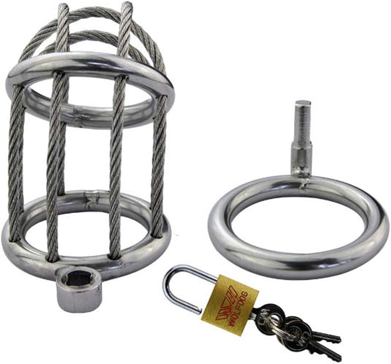CJH Men's Stainless Steel Virginity Lock Diameter is 3.5cm