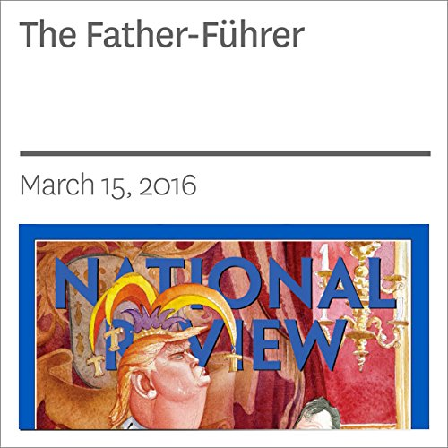 The Father-Führer audiobook cover art