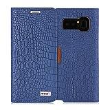 WWW Samsung Galaxy Note 8 Case, [Crocodile Pattern] Premium