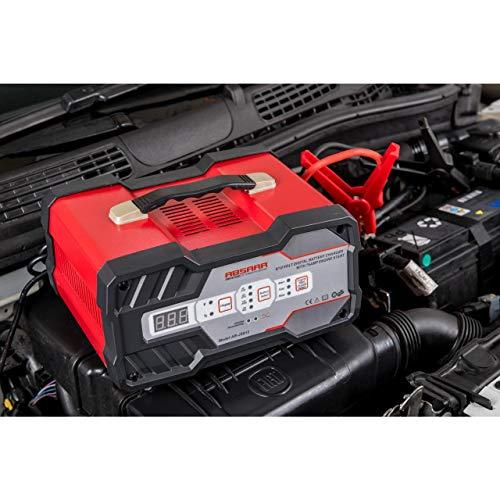 Absaar 158006 Batterie-Ladegerät mit Starthilfe 12A 6/12V