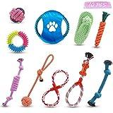 LJ-EXPLOSIVE juguete de cuerda para perros, para entrenar los dientes de su cachorro, para...