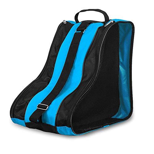 Lixada 3 Schichten Atmungsaktive Skate-Tragetasche für Kinder Rollschuhe Inline-Skates Schlittschuhe,Wasserabweisend Ice Skate Tasche Bag Unisex Kinder und Erwachsene