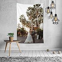 Bridal Veil ファッションインテリアデコレーション多機能ベッドルームパーソナリティギフト内壁ハンギングルームカーテンギフトウォールアートファッション新館ウェディングギフトかわいい風景10925