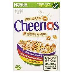 Cheerios Crunchy Wholegrain Cereals, 600g