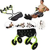 Abdominal-G AB Rad Fitness Bauch 6 Trainings Level Portable Sport Core Double AB Power AB Roller Übungen Ausrüstung