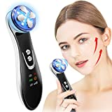 Facial Device 4 in 1 Anti Aging Machine Color Light Wrinkle Remover Massager for Facial Firming
