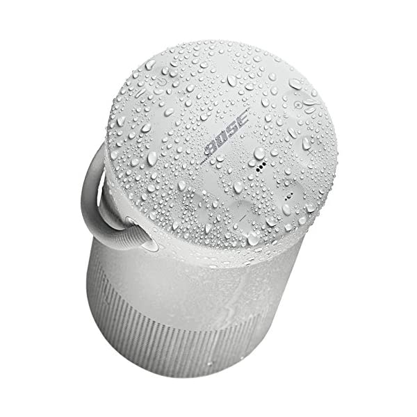 bose soundlink revolve + portable & long-lasting bluetooth 360 speaker lux gray