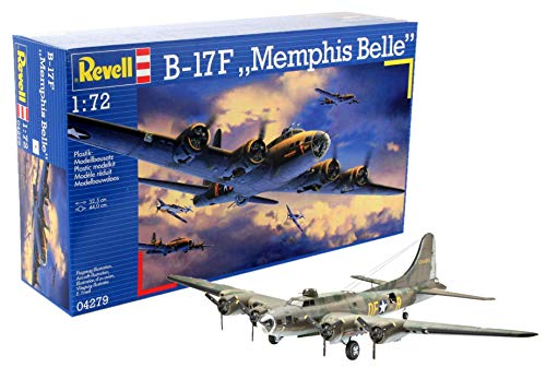 Revell Boeing B-17F Memphis Belle, Kit de Modelo, Escala 1:72 (4279) (04279)