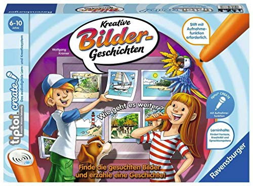 tiptoi® CREATE Kreative Bildergeschichten: Finde die gesuchten Bilder und erzähle eine Geschichte!