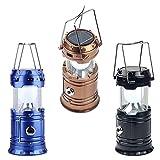 Belong Enterprise Plastic Rechargeable Solar Emergency Light Lantern, Multicolour