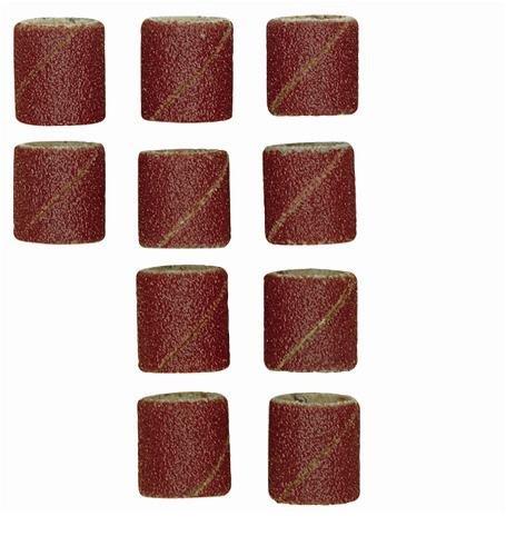 Preisvergleich Produktbild Proxxon 28981 28 981 Ersatzschleifbänder 10 Stück,  rostrot / schwarz