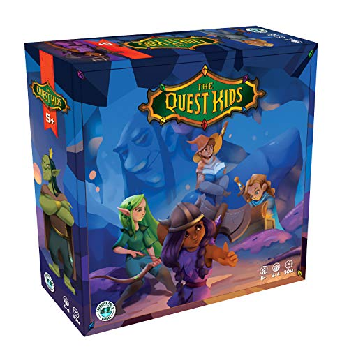 The Quest Kids Board Game | Family Fantasy Tabletop Game for Ages 5 and Up | Adventure Fun for Boys...