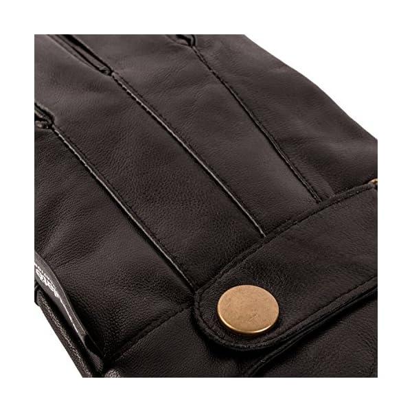 Pierre Cardin Luxury Mens Leather Winter Gloves 3