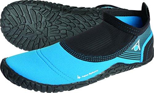 Aqua Sphere Beachwalker 2.0 Badeschuhe/Strandschuhe, aus Neopren 54 blau/schwarz