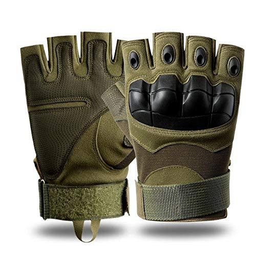 Guantes Montar al Aire Libre Fitness Senderismo Sin Dedos Guantes de Dedo Completo-A9-L