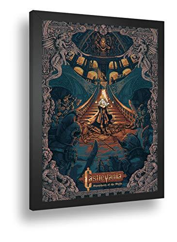 Quadro Decorativo Poster Castlevania Symphony Of The Night