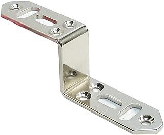 ダイドーハント(DAIDOHANT) ( 補強金物 ) DH ピッタリサポート Z型  TZ65 N [ 鉄 / ニッケルめっき ] ( 1個入 ) 65892
